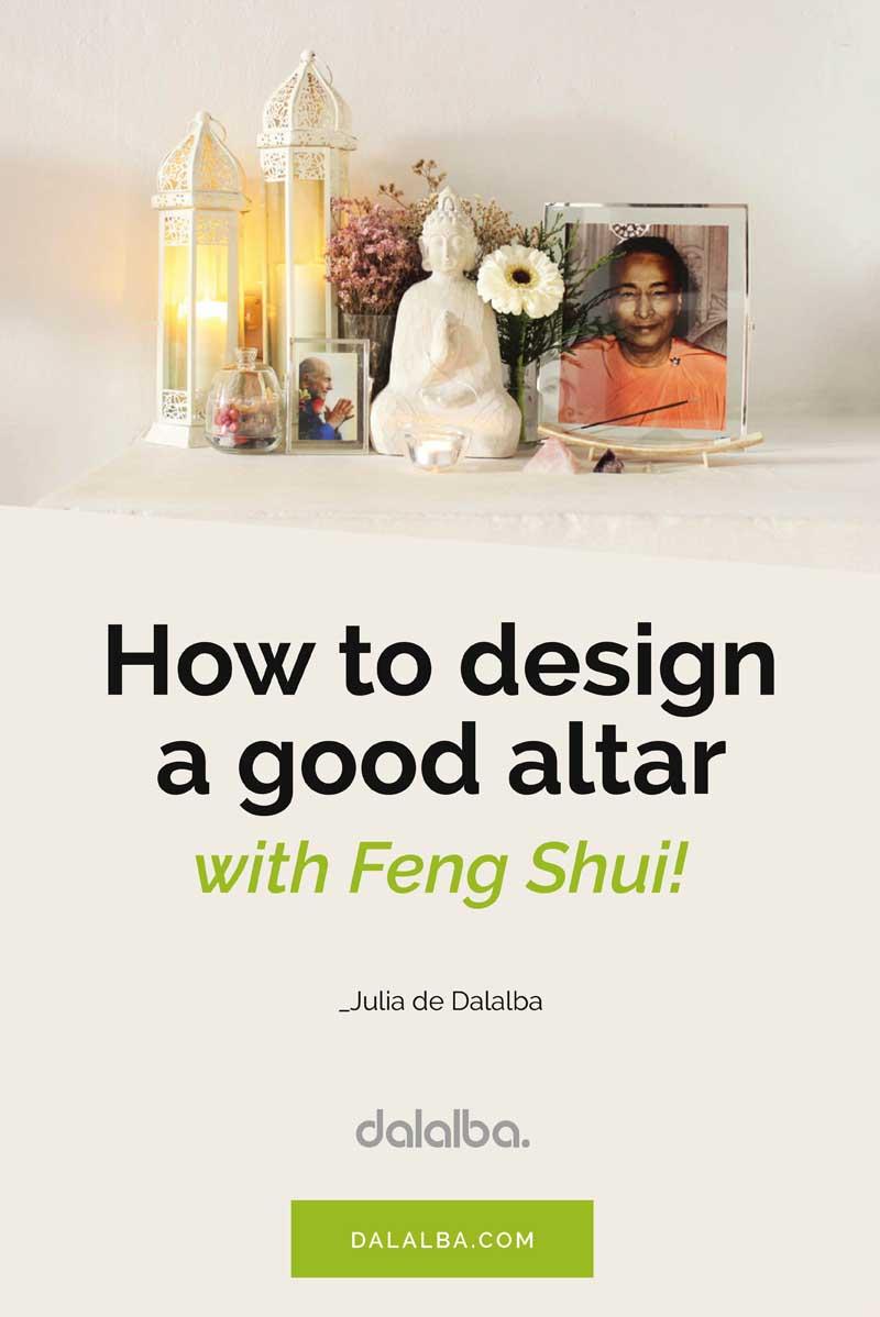 design altar feng shui