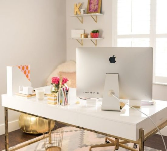 best direction to place your desk