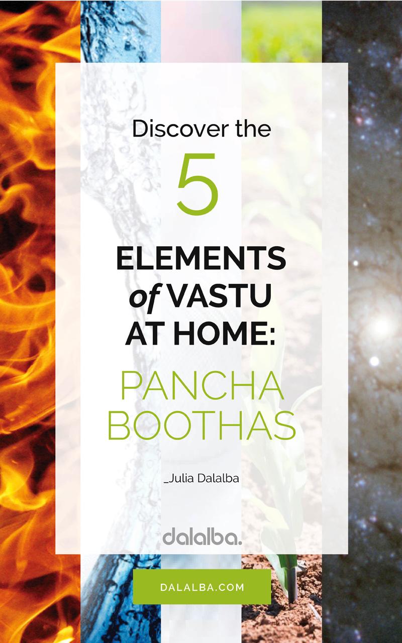 5 elements of vastu at home