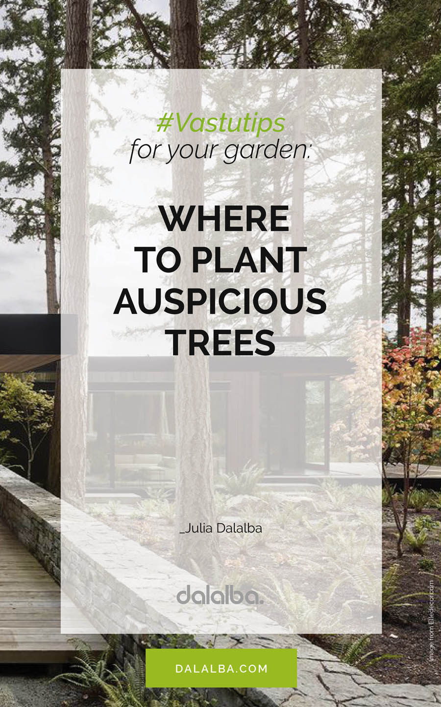 vastu trees for garden