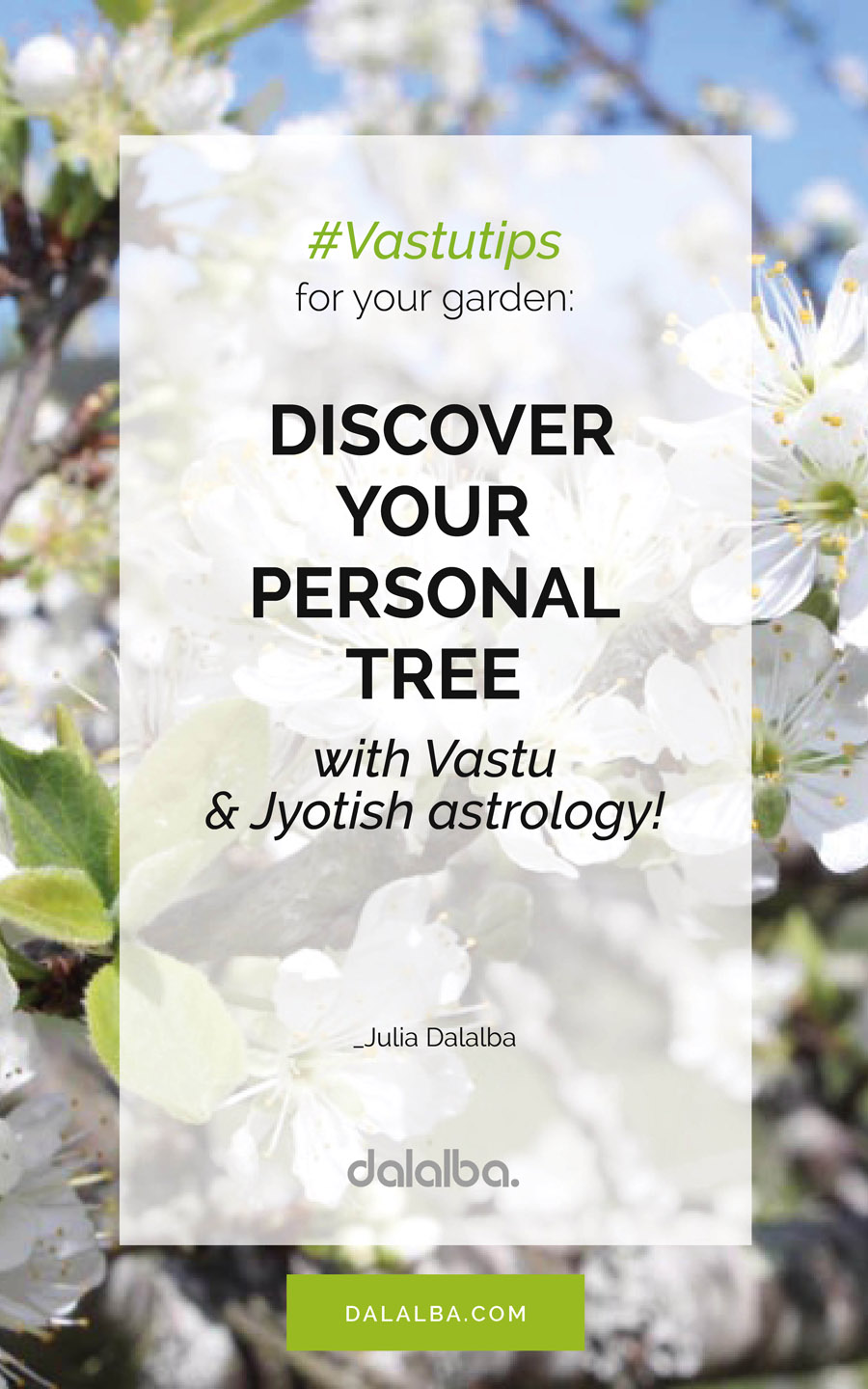 discover your personal tree with Vastu and Jyotish astrology