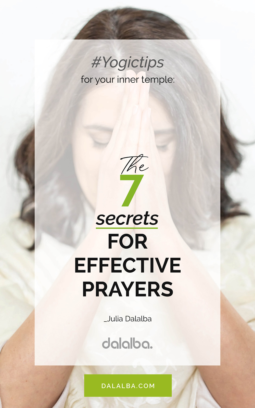 the seven secrets for effective prayers